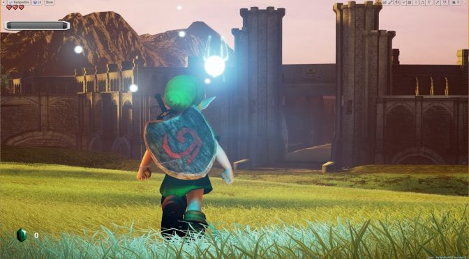 The Legend of Zelda Ocarina of Time Unreal Engine 4 Fan Remake