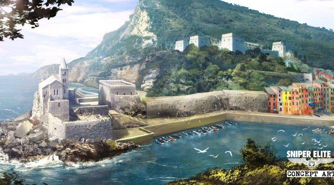 Sniper Elite 4 – New concept arts released