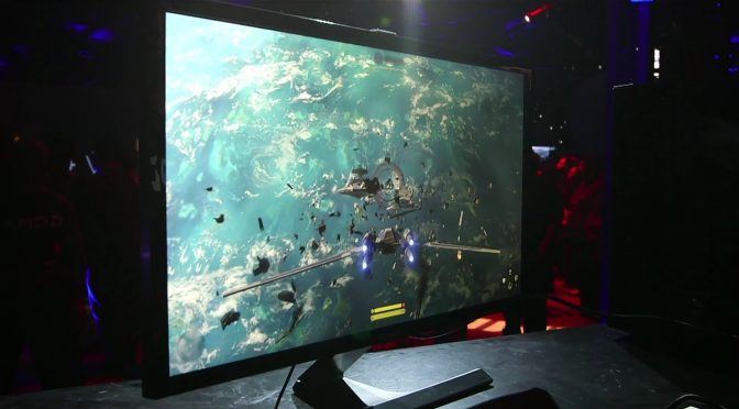 Here is the AMD Vega GPU running Star Wars: Battlefront's Rogue One DLC in 4K with more than 60fps