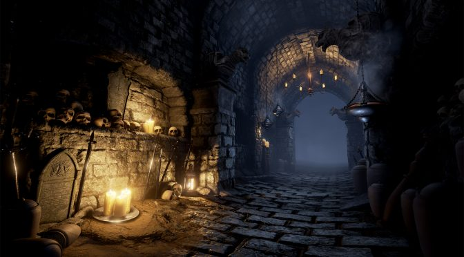 This Dark Souls-inspired environment in UE4 from DICE's ex-Environment Artist looks really beautiful