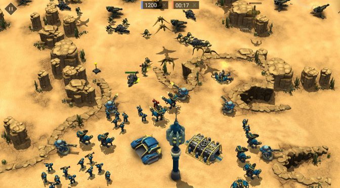 Earth Liberation, new RTS inspired by C&C and StarCraft, is now available on Steam Early Access