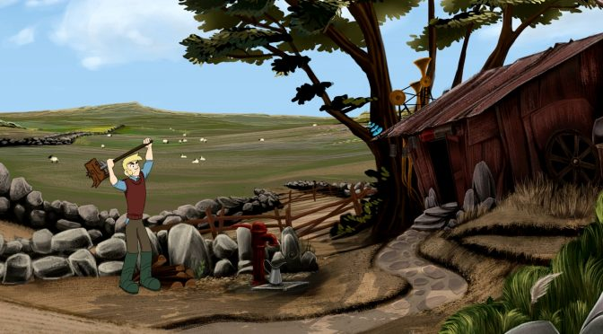 The Little Acre, point-and-click adventure game with hand-drawn animation, is now available