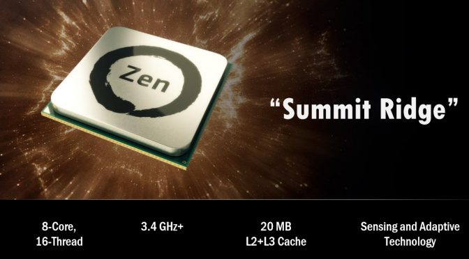 AMD Ryzen 7 1700X versus Intel Core i7 6800K – First Official Gaming Benchmarks Leaked