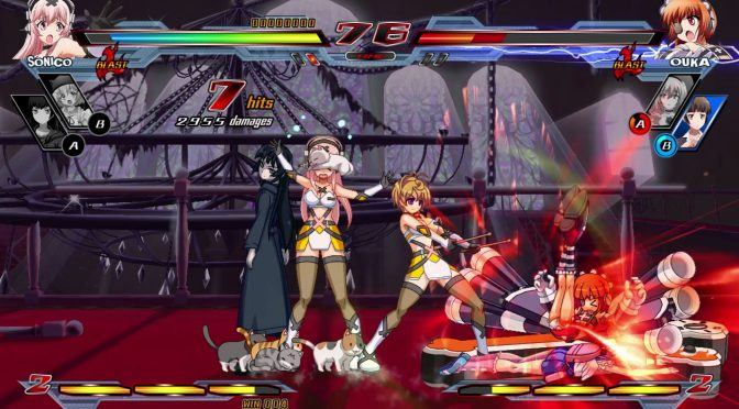Nitroplus Blasterz: Heroines Infinite Duel is now available on Steam
