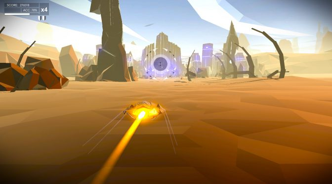 New screenshots released for pulsating music action game, Aaero