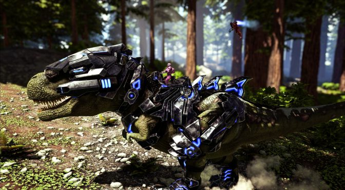ARK: Survival Evolved – New sci-fi-themed content, TEK Tier, is now available