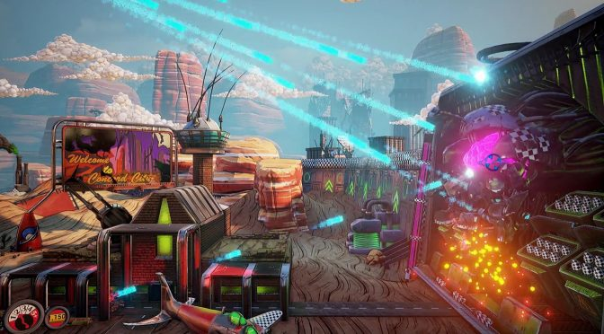 Dead Metal Punks, indie 3D sidescrolling shooter in Unreal Engine 4, gets a playable demo