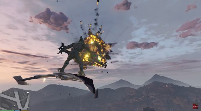 Grand Theft Auto V – New mod lets you become the Green Goblin and use his Glider