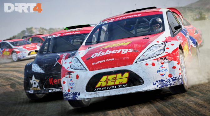 DiRT 4 has been officially announced, to be released in June 2017, first screenshots