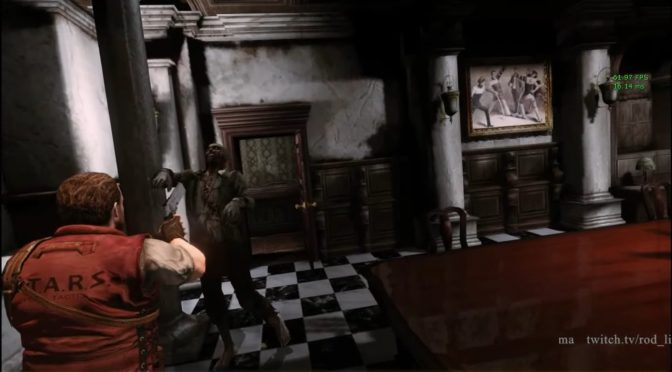 Here is what Resident Evil HD Remaster looks like in first-person mode