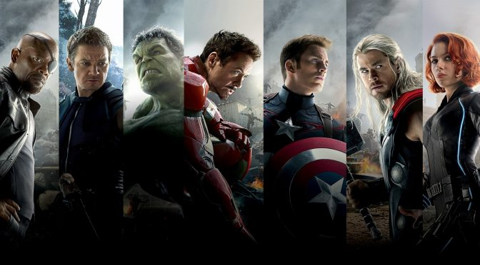 The Avengers movie header