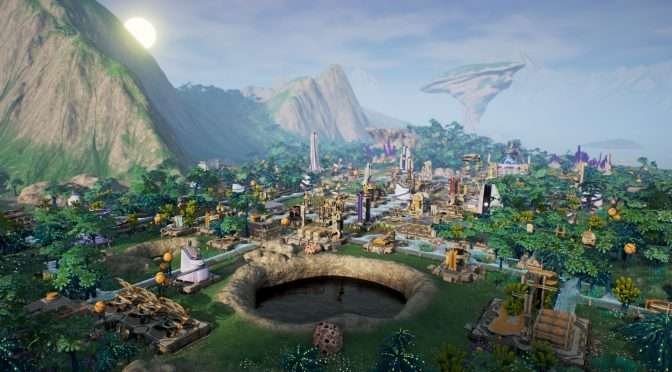 Sci-fi city building and management sim game, Aven Colony, is now available