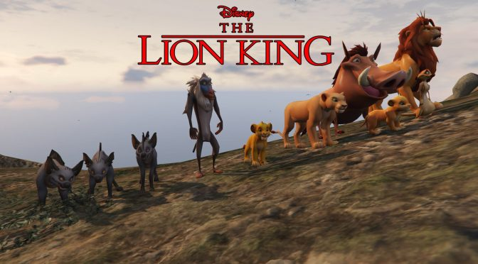 The entire cast of The Lion King is being brought to GTA V thanks to this incredible mod