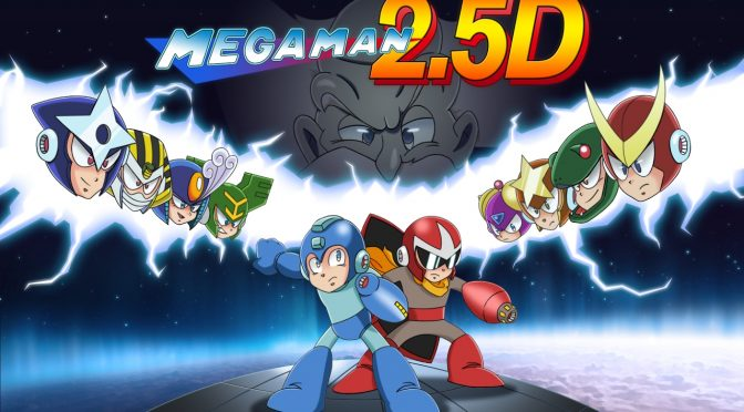 Mega Man 2.5D is a free fan-made Mega Man game that is available for download right now