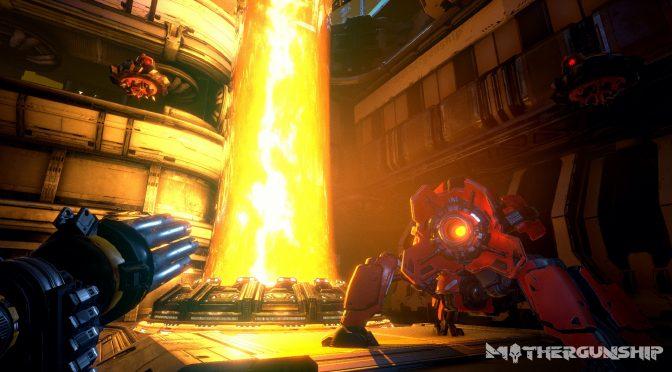 Bullet-hell FPS hybrid, MOTHERGUNSHIP, releases on July 17th