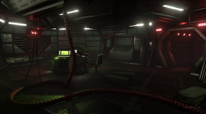 3D artist creates an Alien-inspired scene in Unreal Engine 4