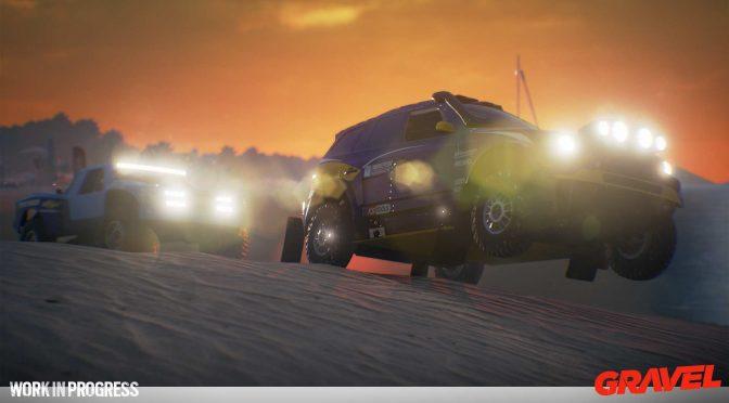 New Gamescom 2017 trailer released for Milestone's off-road racer, Gravel