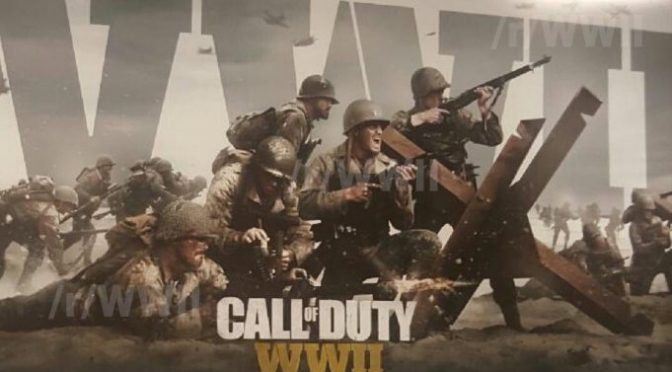 "Rumour: This year's Call of Duty may be called ""Call of Duty: WWII"", first artworks leaked online"