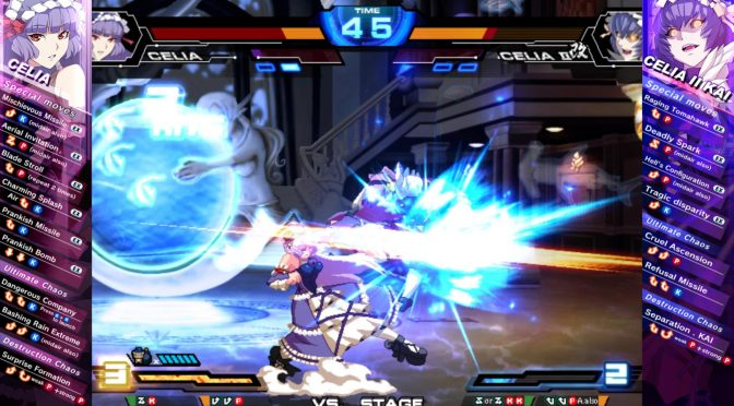 Chaos Code: New Sign of Catastrophe, hi-speed 2D fighting game, coming to Steam on March 15th