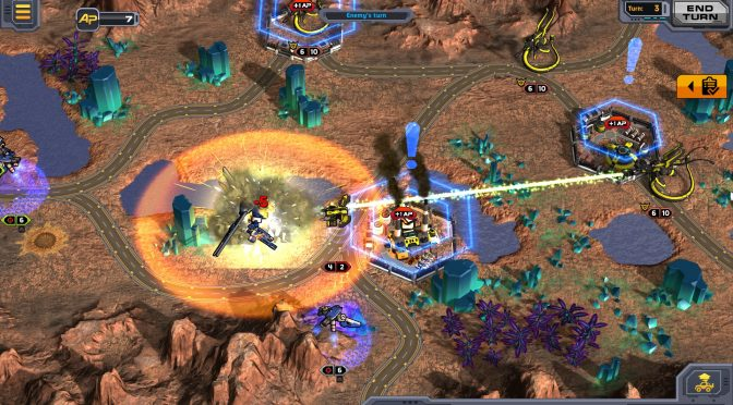 Codex of Victory, turn-based strategy with real-time base building, is now available