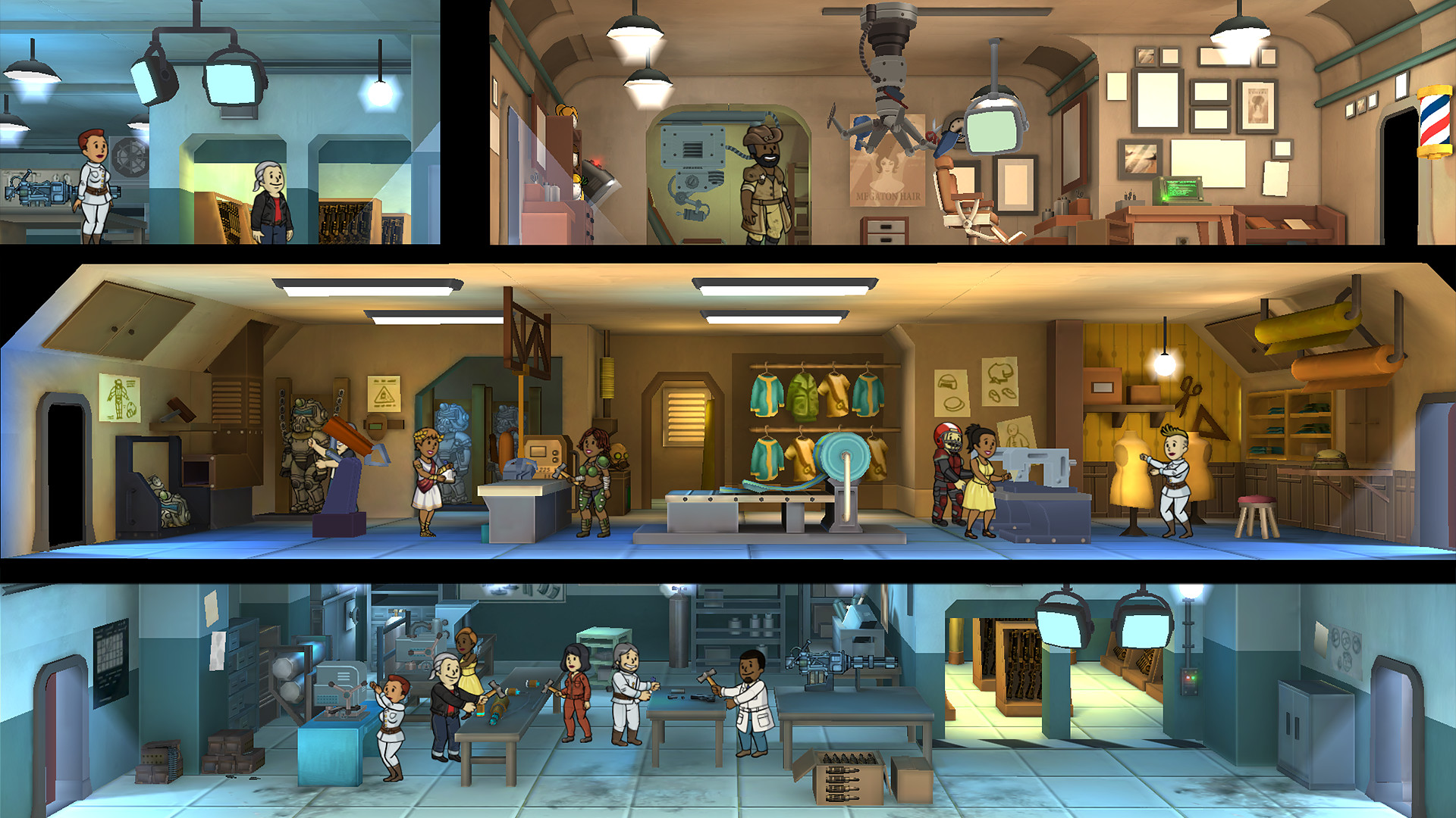 Free-to-play Fallout Shelter is now available on Steam