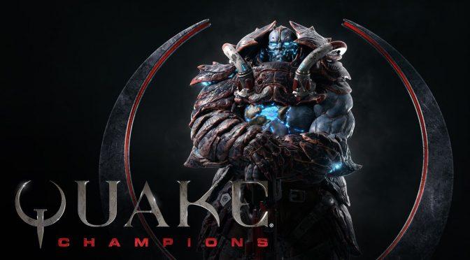 New Quake Champions trailer focuses on the Scalebearer champion