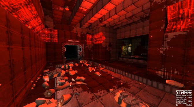 Retro shooter STRAFE is now available, first patch has already been released