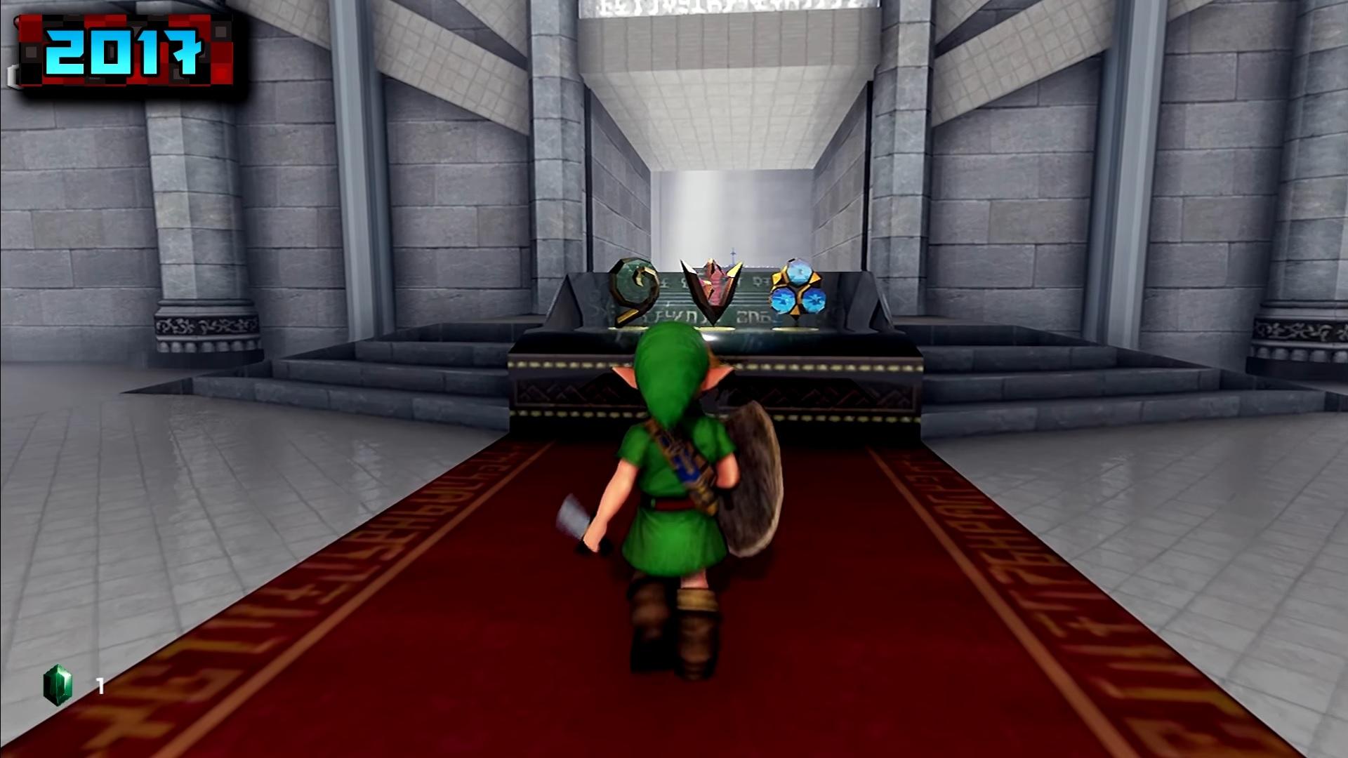 The Legend of Zelda: Ocarina of Time comparison - Original