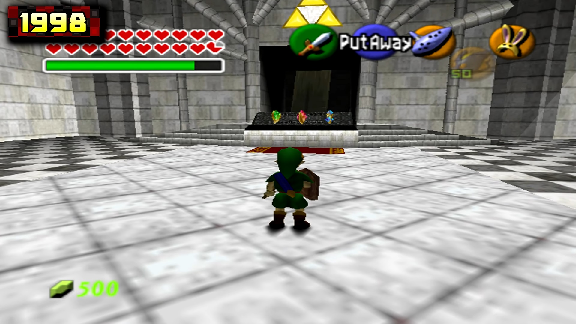 The Legend of Zelda: Ocarina of Time comparison - Original (1999) vs