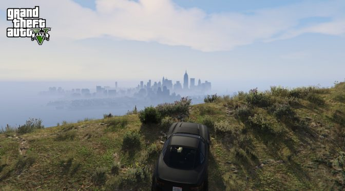 Grand Theft Auto V's Liberty City total conversion mod also