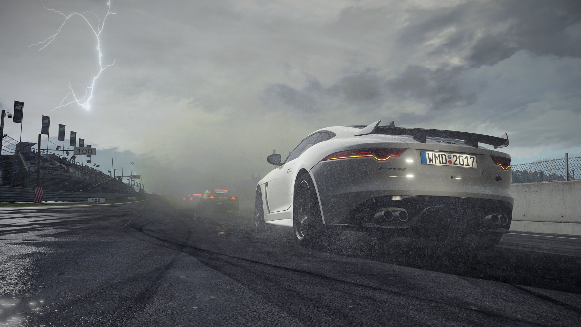 Track And Some New Cars Such As The Jaguar F Type SVR Nissan 300ZX Turbo Ford 150 Ultimate Funhaver McLaren 570S Project CARS 2 Is Planned For