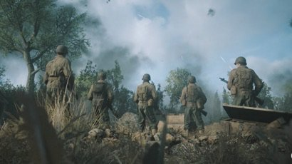Call of Duty WWII - First in-game screenshots leaked online