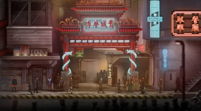 Free demo released for 2D side-scrolling action cyberpunk RPG, Dex