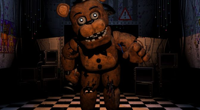 Five Nights at Freddy's recreated in Unreal Engine 4, available for download, allows you to roam freely