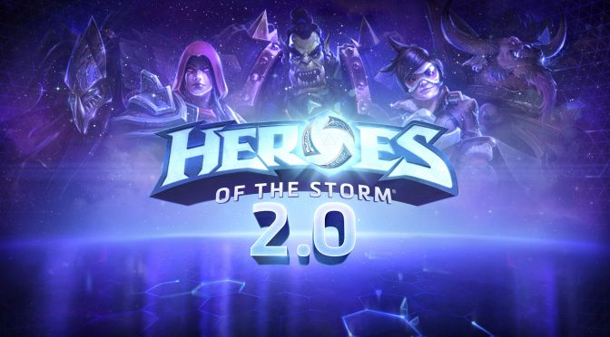 Heroes of the Storm 2.0 is now live, features a more powerful progression system, new hero and more