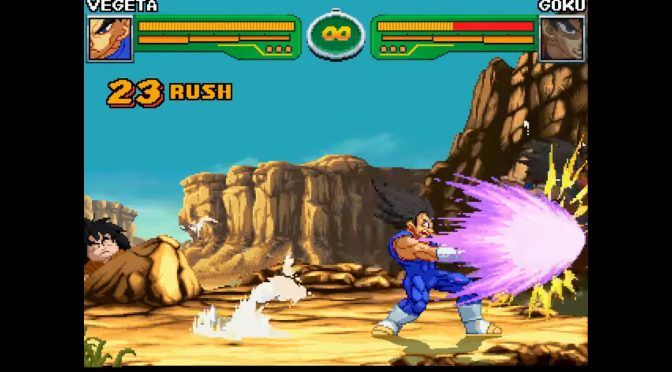 Hyper Dragon Ball Z Champ's Build is perhaps the best 2D fighting DBZ game, and is completely free