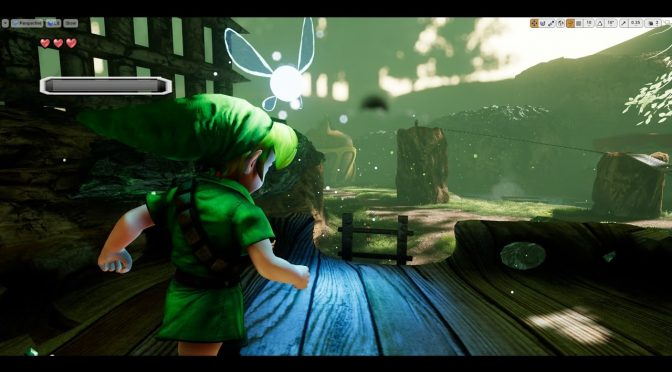 The Legend of Zelda: Ocarina Of Time's Kokiri Forest recreated in Unreal Engine 4, available for download