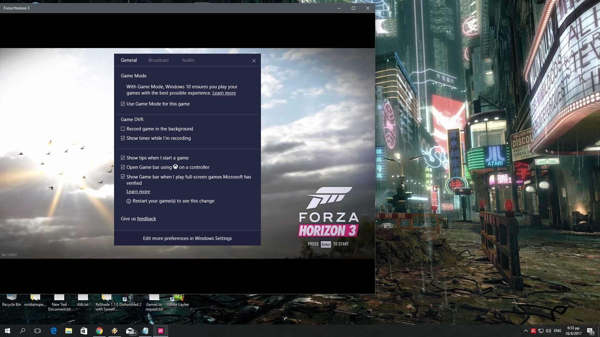 Windows 10 - Game Mode tested in 6 CPU-bound PC games