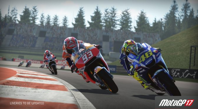 Here are the first official screenshots for MotoGP 17