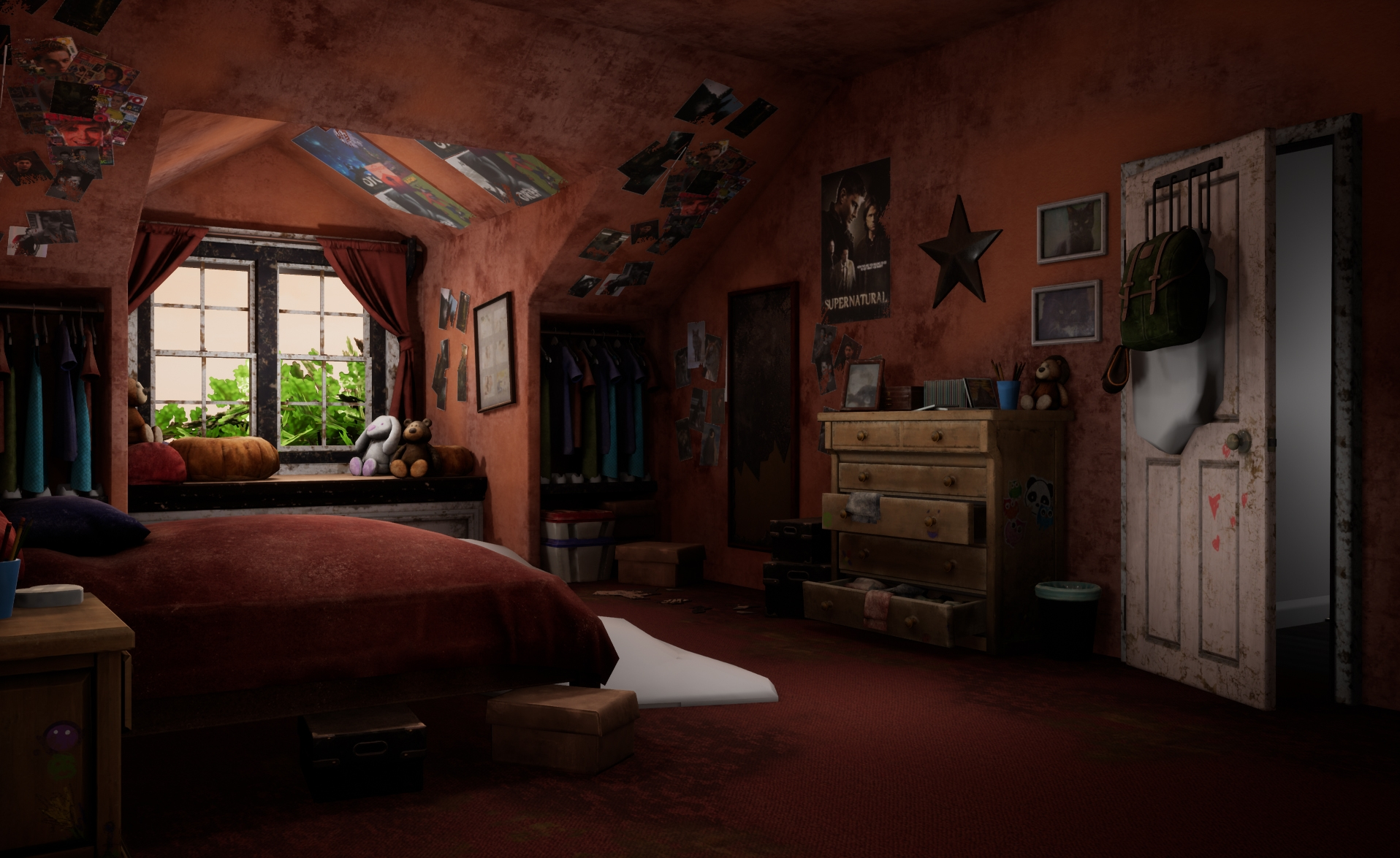 Here is what The Last of Us could have looked like in Unreal