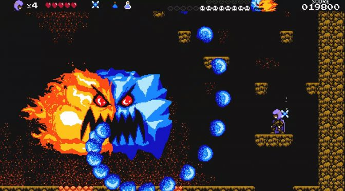 NES-inspired platformer, A Hole New World, is now available on Steam