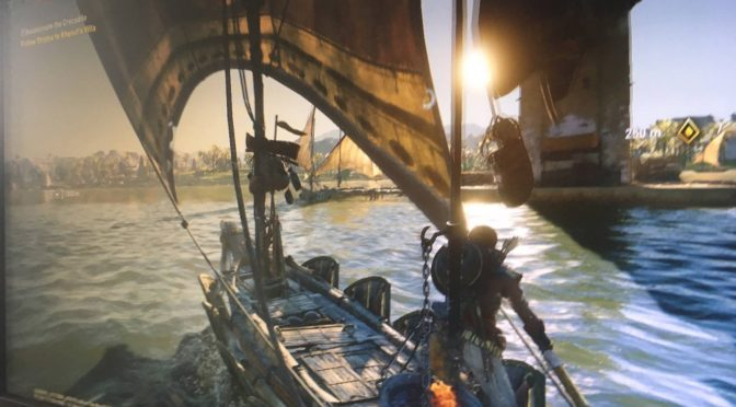 This may be the first leaked image from the new Assassin's Creed game, Assassin's Creed: Origins