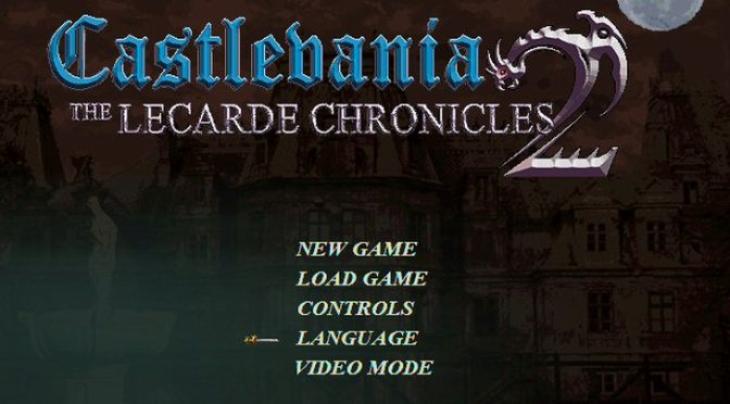 Castlevania The Lecarde Chronicles 2 is a new free 2D Castlevania