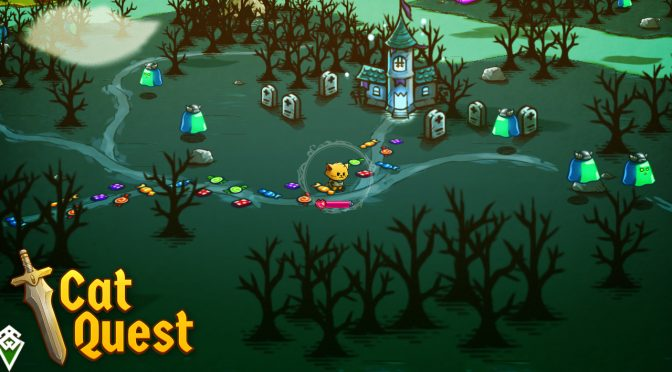 Cat Quest is a cute 2D open-world top-down RPG that will be released this Summer