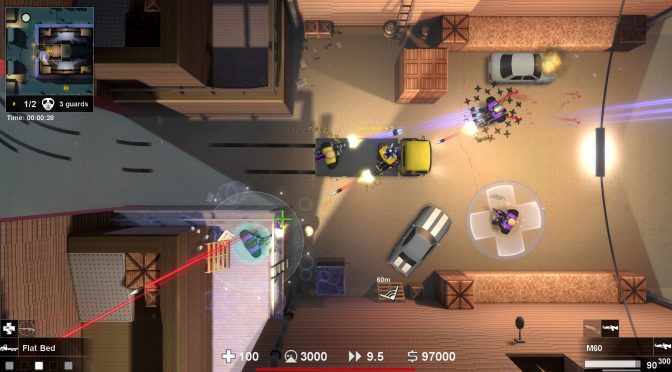 Geneshift, top-down shooter with GTA2 style vehicles and MOBA style skills, releases on May 23rd