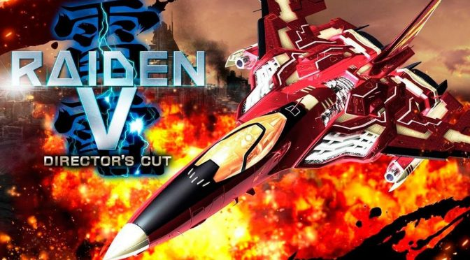 Raiden V: Director's Cut is coming to Steam this Fall