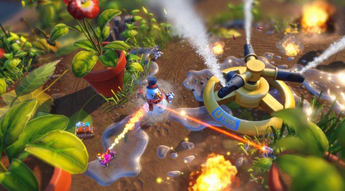 Second gameplay trailer & new screenshots for Micro Machines World Series
