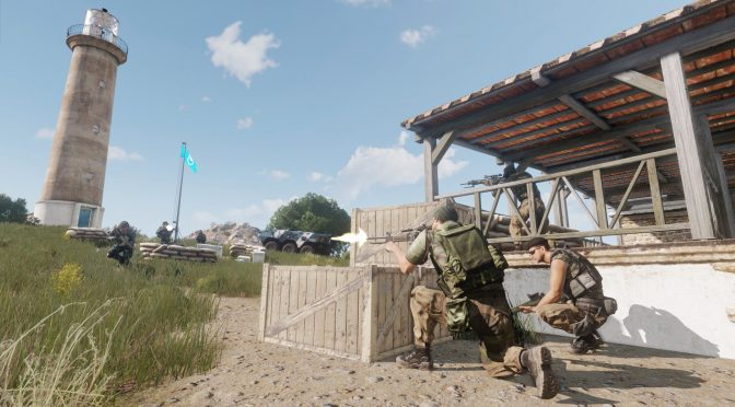 First gameplay trailers for Bohemia's upcoming free multiplayer tactical shooter, Argo