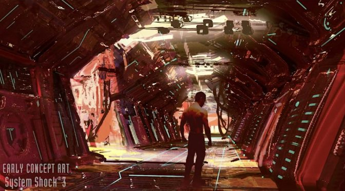 Here are the first concept arts for System Shock 3