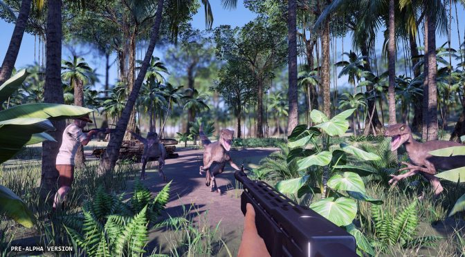 Here is a new screenshot from the cancelled Jurassic World Survivor game